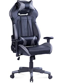 Killbee Large Gaming Chair Reclining Computer Chair Ergonomic Swivel Executive Office Chair, High Back Computer