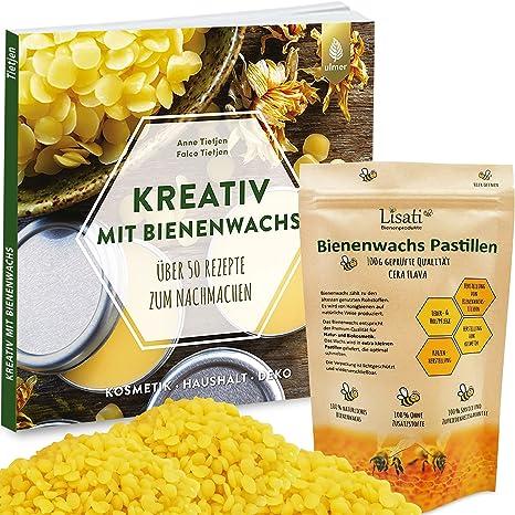 200g Bienenwachs Pastillen Perfekt für Kosmetik Kerzen Bienenwachstücher