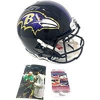 $419 » Lamar Jackson Baltimore Ravens Signed Autograph Speed Authentic On Field Speed Full Size Helmet JSA Certified