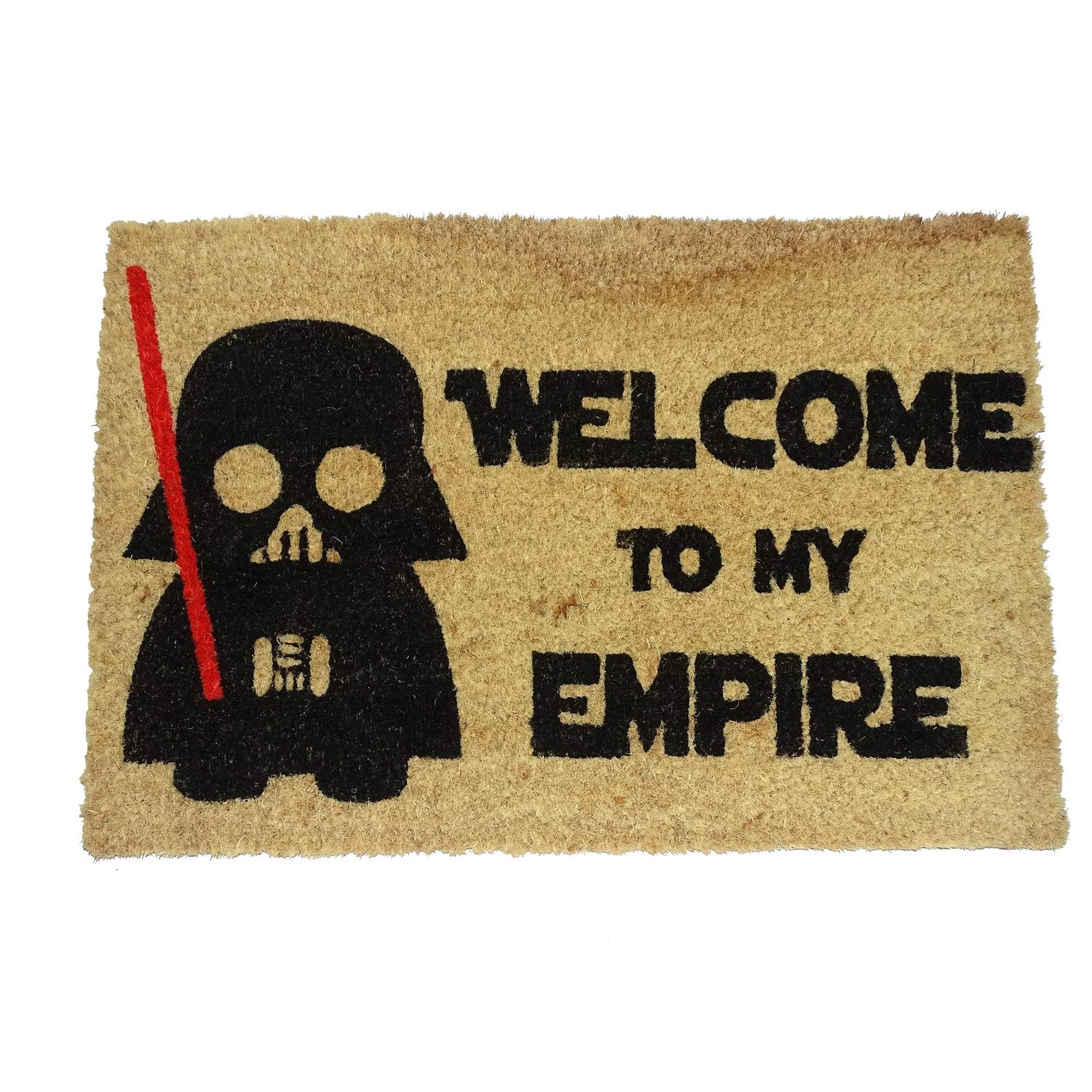 oko doormats - Felpudos Originales y Divertidos para la Entrada de casa - Welcome to my Empire - PVC, Coco, 40 x 60 cm