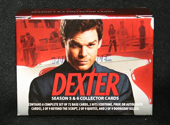 Dexter Season 4 Trading Cards ~ COMPLETE 72-CARD BASE SET Niet-sportkaarten
