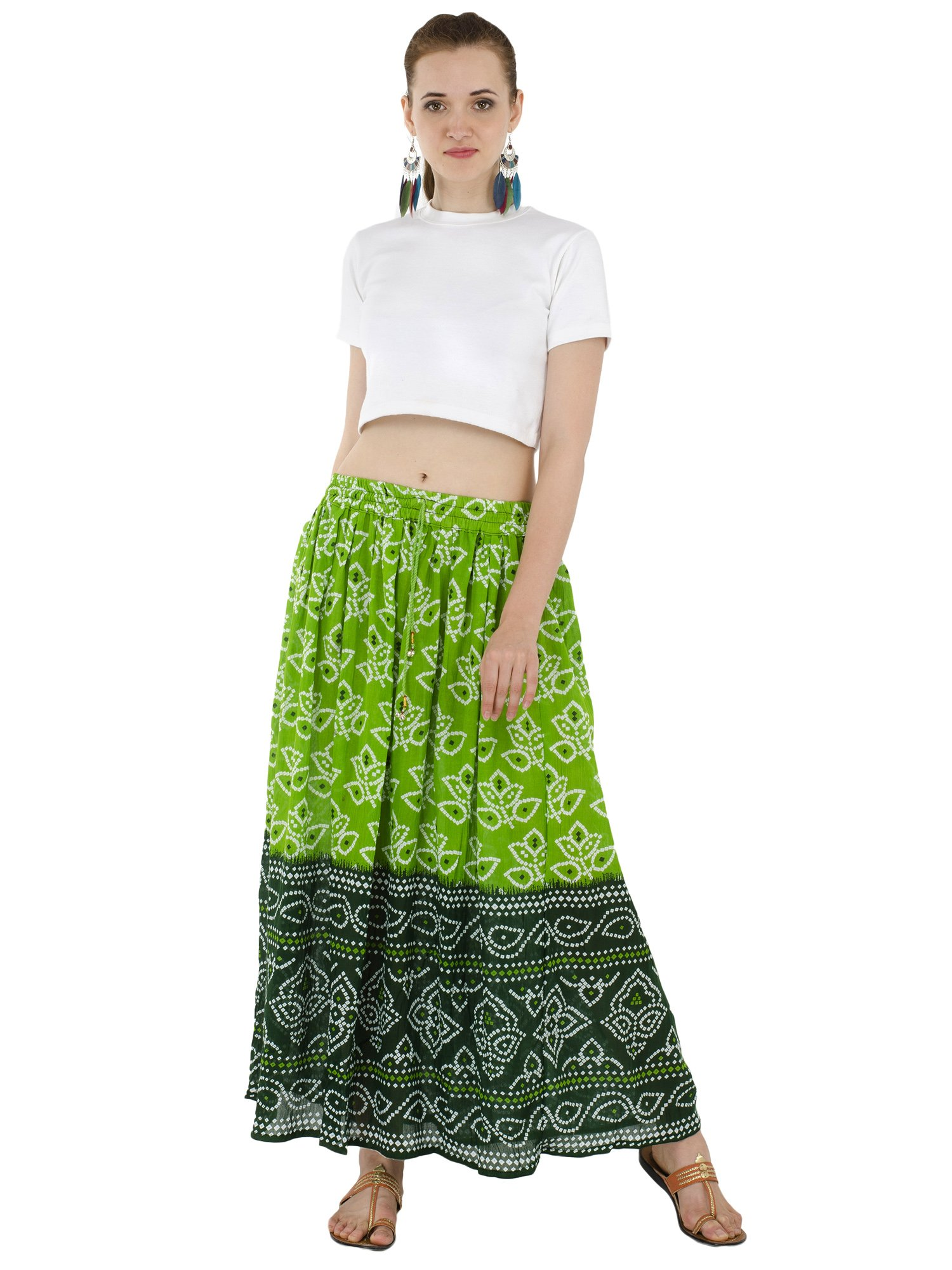 Women's Floral Maxi Skirts High Waisted Floral Print Cocktail Party Prom Skirt