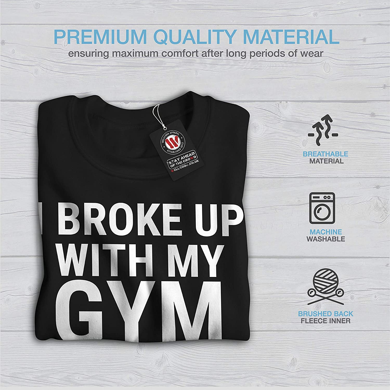 Casual Jumper wellcoda Sarcastic Gym Funny Mens Sweatshirt