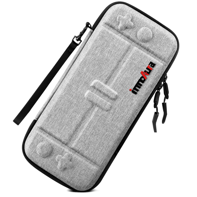 Estuche para Nintendo Switch – innoAura Funda Rígida de Viaje Ultra-Ligera con Capacidad para