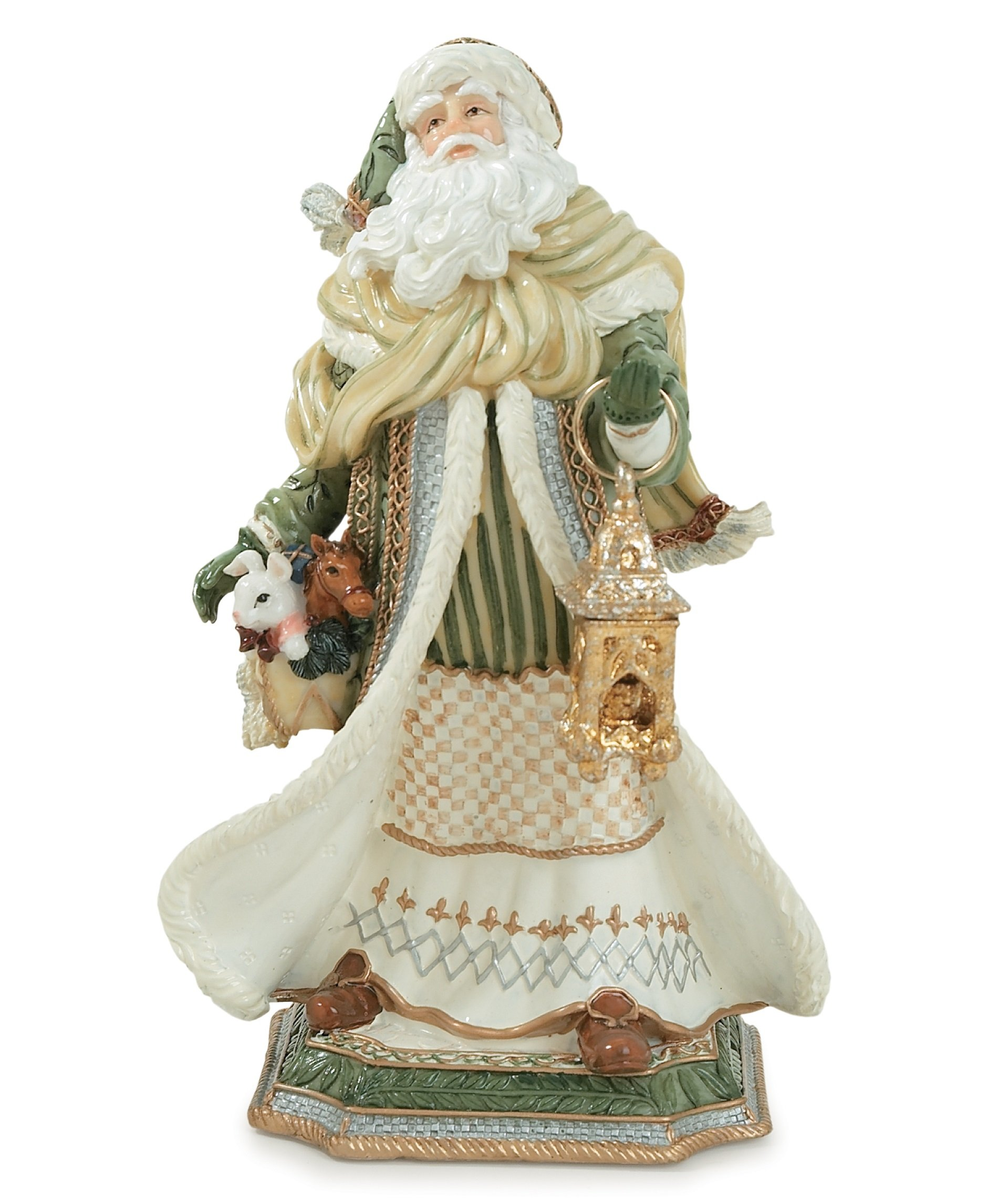 Georgian Holiday Collection, Santa Figurine, Large by Fitz and Floyd