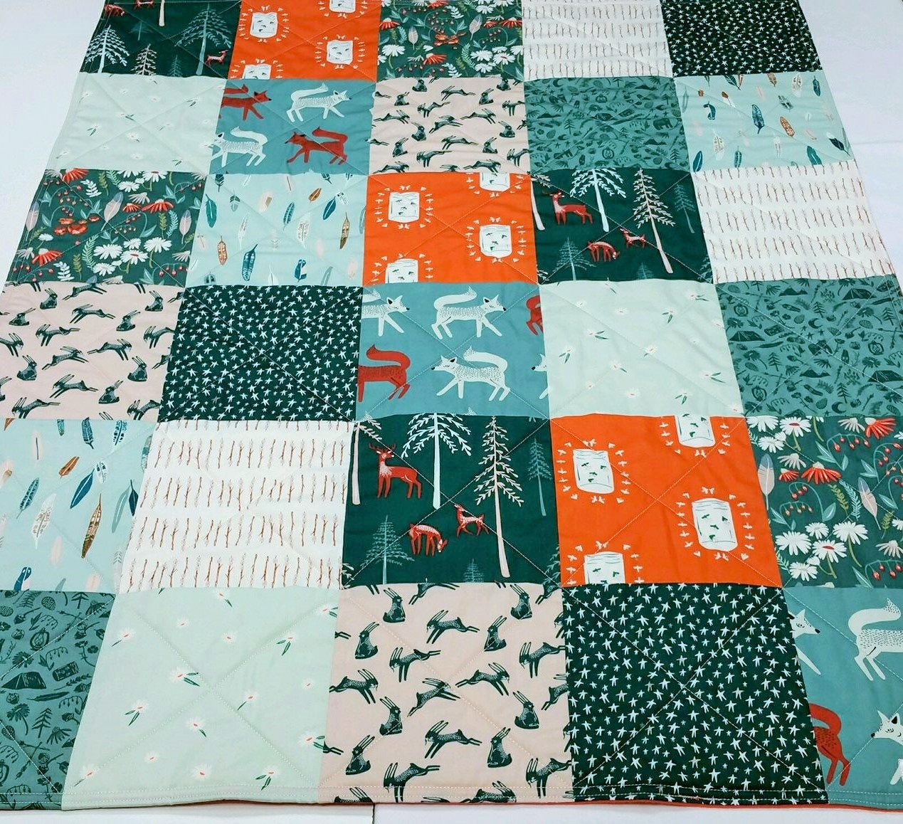 Baby Camping Quilt