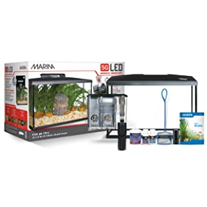 Marina LED aquarium kit, 5 gallons