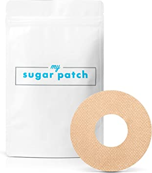 My Sugar Patch Waterproof Adhesive Patch for Abbott Freestyle Libre � Pack of 30