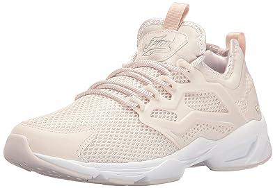 68220f661cf4a3 Reebok Women s Fury Adapt Graceful Fashion Sneaker Lilac Ash Silver  Met White 5 M