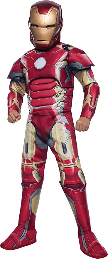 Marvel - Disfraz The Avengers Iron Man para niños, talla L (I ...