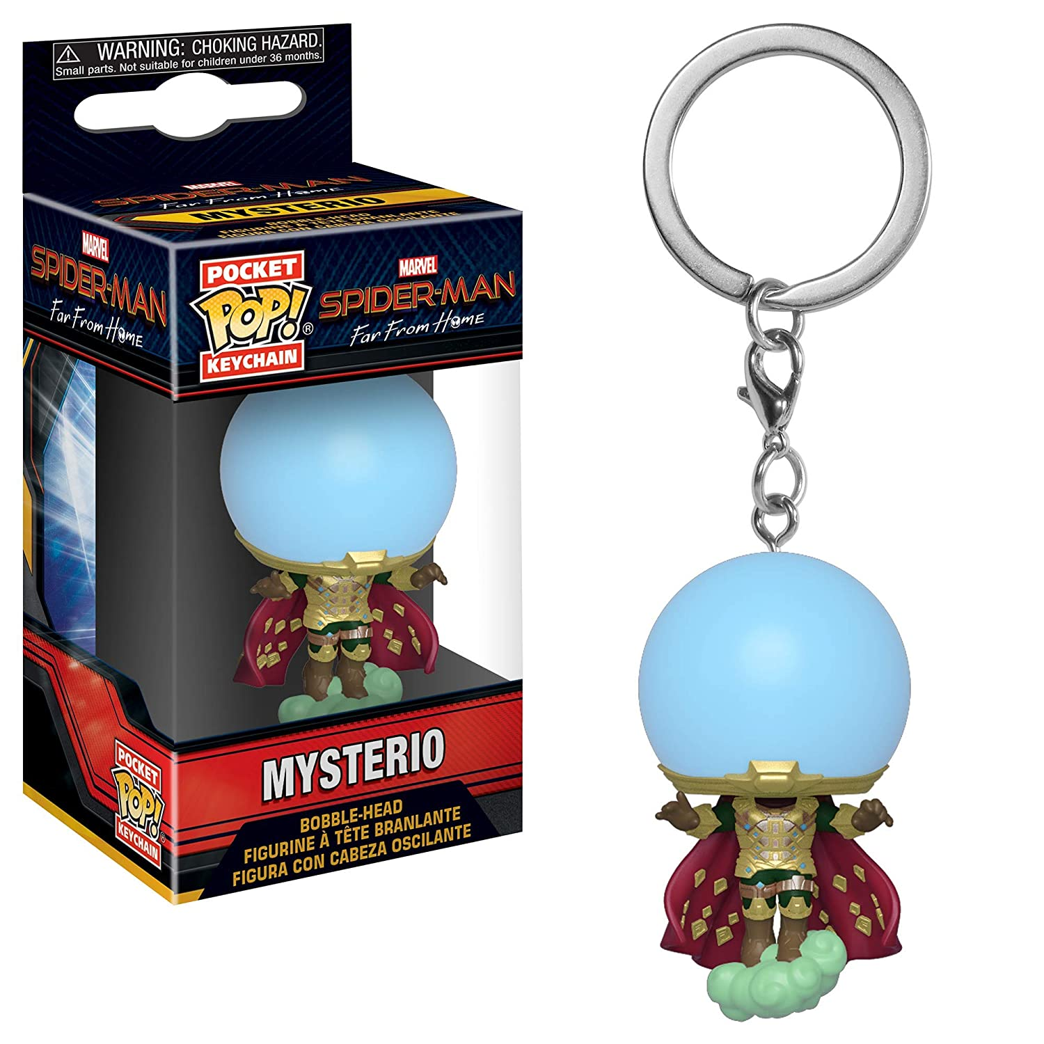 Funko- Llavero Pocket Pop, Multicolor, Talla única (39363)