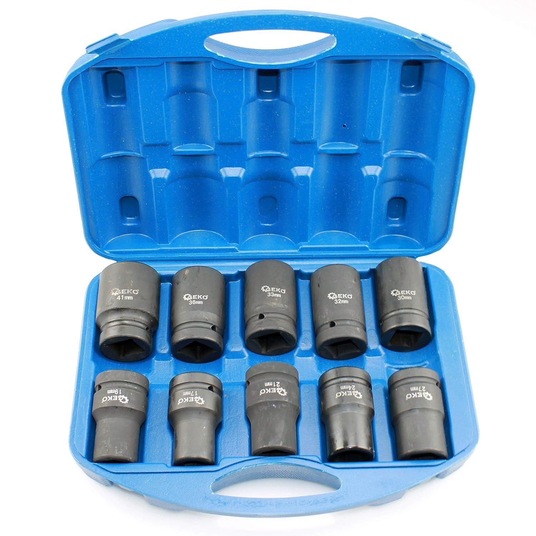 1//4 entradas 6,3 mm 1//2 23 piezas BGS 2246 Juego de llaves de vaso hexagonal 12,5 mm | medidas en pulgadas