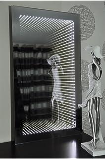 design wand spiegel badezimmerspiegel mit led beleuchtung ... - Badezimmerspiegel Mit Led Beleuchtung