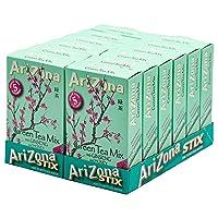 AriZona Green Tea with Ginseng Sugar Free Iced Tea Stix, Low Calorie Single Serving...