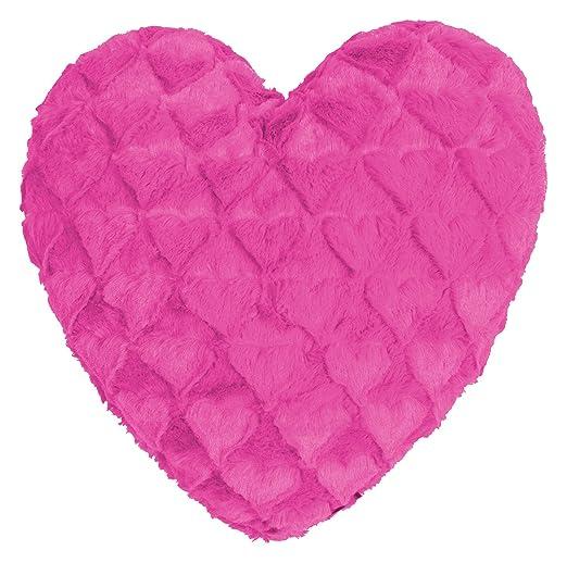 Fluffy Hearts Corazón Cojín kuschelweicher Peluche en ...