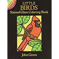 Little Birds Stained Glass CB
