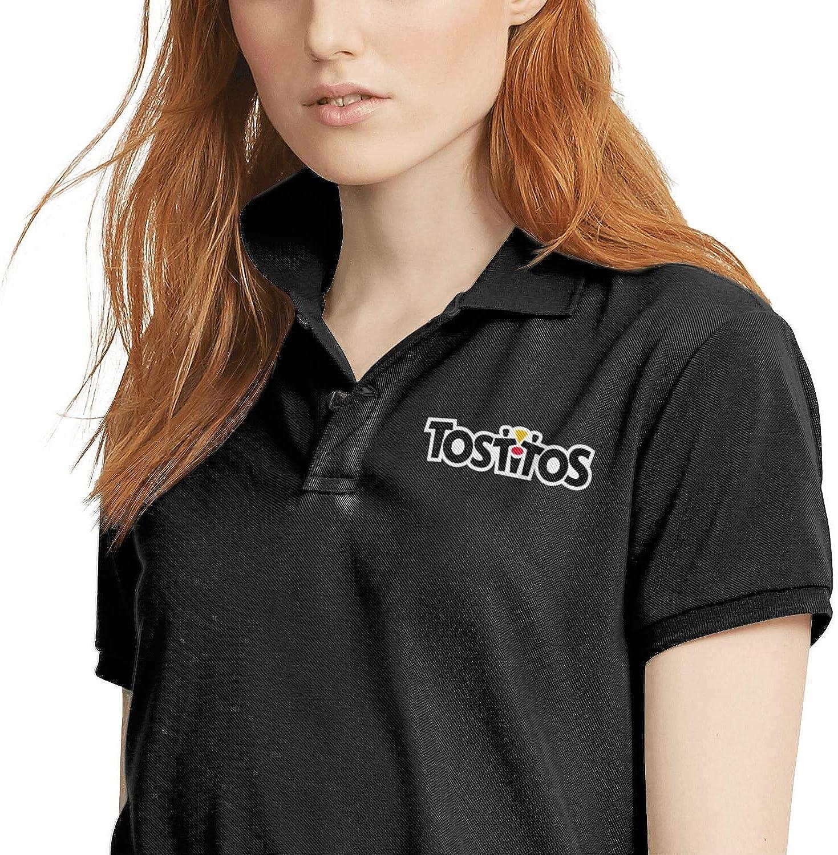 Breathable 100/% Cotton Classic T Shirt Black Woman Polo Shirt Taco-Bell-Logo
