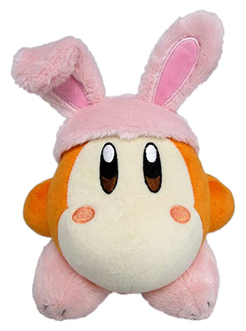 Sanei Waddle Dee (Rabbit) Kirby stuffed height 4""