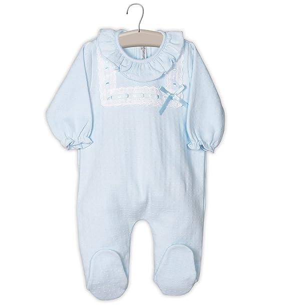 Pelele bebe azul