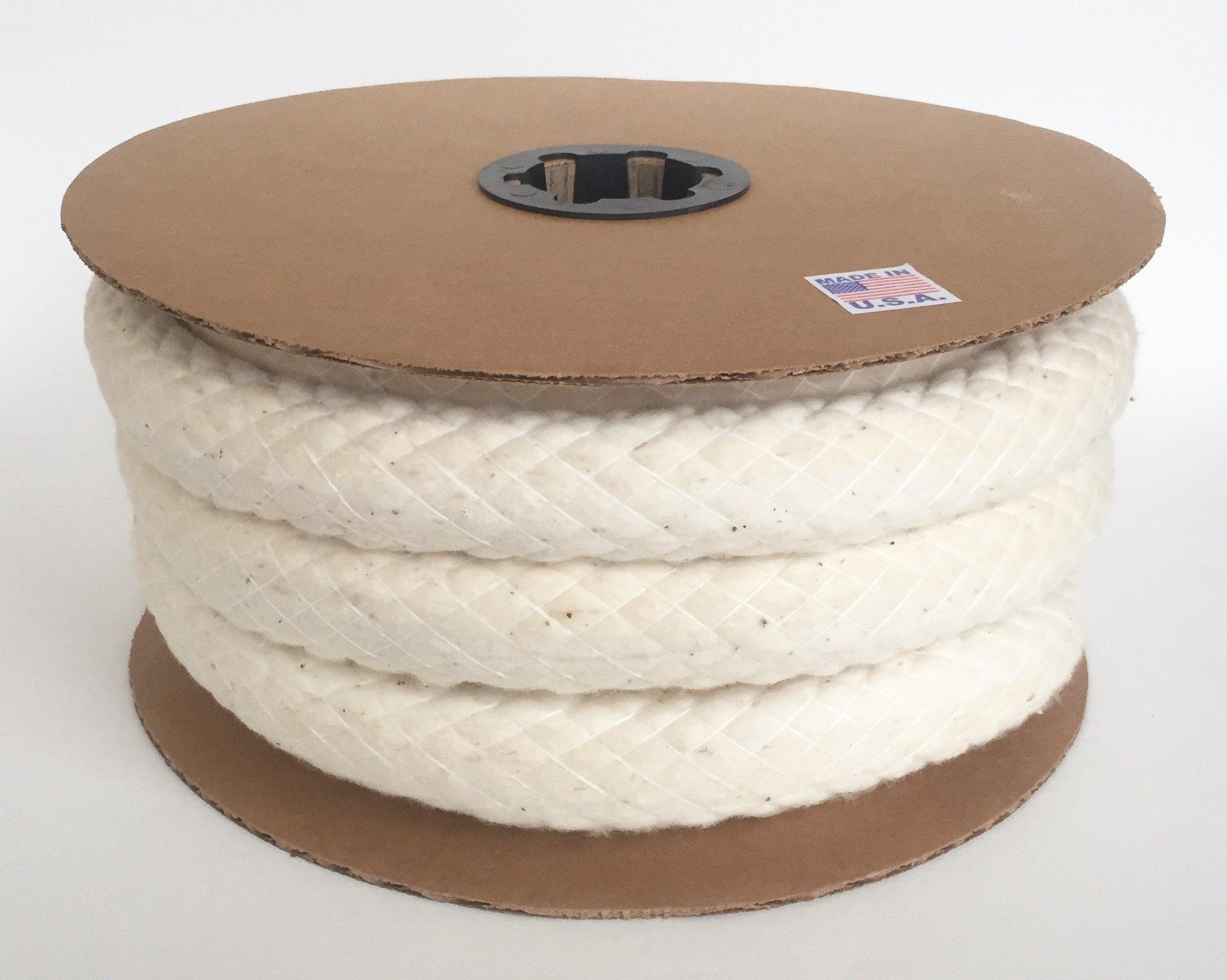 USA Cotton Piping Welt Cord All Sizes (#8-1.25'' - 35 ft/Spool) by Great Lakes Cordage