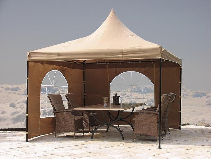 Grasekamp Carpa Lounge Sahara de 3 x 3 m Arena con Aspecto Pared Set: Amazon.es: Hogar