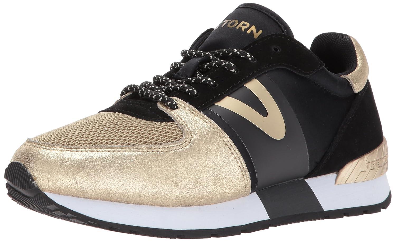 Tretorn Women's LOYOLA6 Sneaker B06XYGD8MX 11 B(M) US|Black/Gold