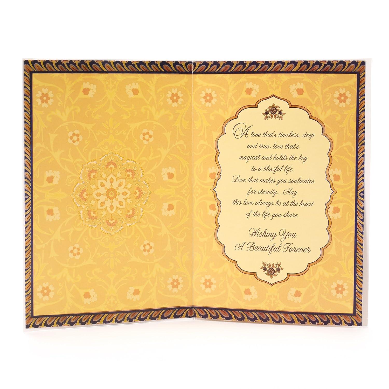 Amazon Hallmark Indian Wedding Card Love Forever fice