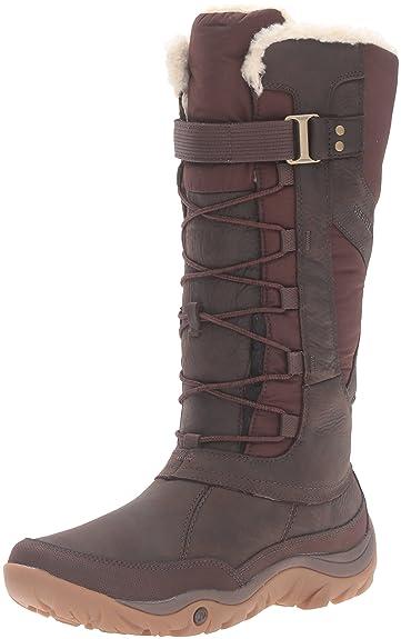 Merrell Women's Murren Tall Waterproof Winter Boot, Bracken, ...