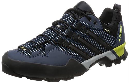 finest selection 96ea1 88d77 adidas Terrex Scope GTX BB0785, Scarpe da Fitness Uomo, Blu Nero (Azubas