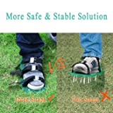 "Rockrok Lawn Aerator Shoes, Heavy Duty 2"" Spike"
