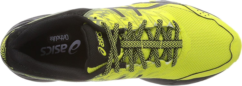 Asics Gel-Sonoma 3 G-TX, Zapatillas de Running para Asfalto para Hombre, Amarillo (Sulphur Spring/Black/Four Leaf Clover 8990), 44 EU: Amazon.es: Zapatos y complementos