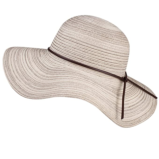 a75d94aa Image Unavailable. Image not available for. Color: Wide Brim Floppy Sun Hat  100% Cotton Packable Summer Beach Hats for Women