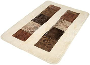 Popular Bath Zambia Bath Rug(21 Inchx32 Inch)