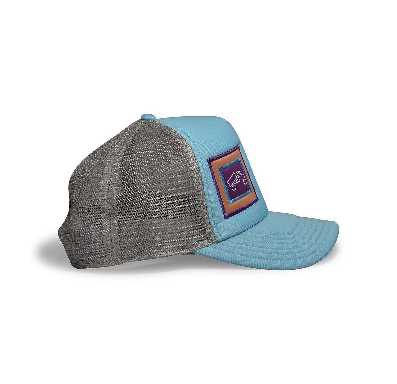 Adult bigtruck Original Trucker Hat Aqua//Coral