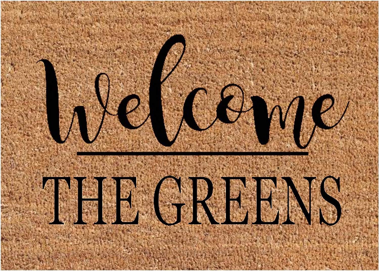 Client gift-door mat personalized-monogram doormat-monogram doormats-monogram door mat-monogram door mats-last name gifts door mats