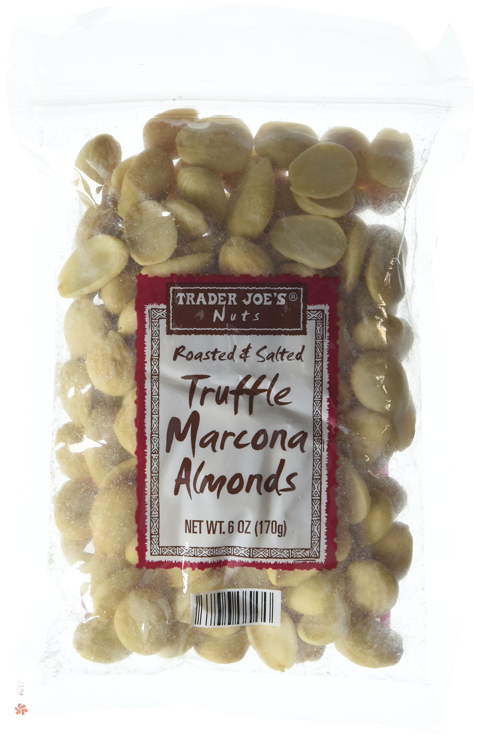 Trader Joe's Roasted & Salted Truffle Marcona Almonds - Pack of 2