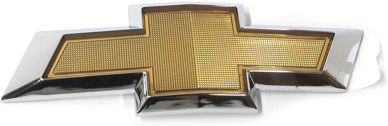 2010-2013 Chevrolet Camaro Rear Deck Lid Trunk Gold Chrome Bow Tie Emblem OEM