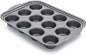Frigidaire 11FFMFPN01 ReadyBakeware, 12 Muffin, Silver