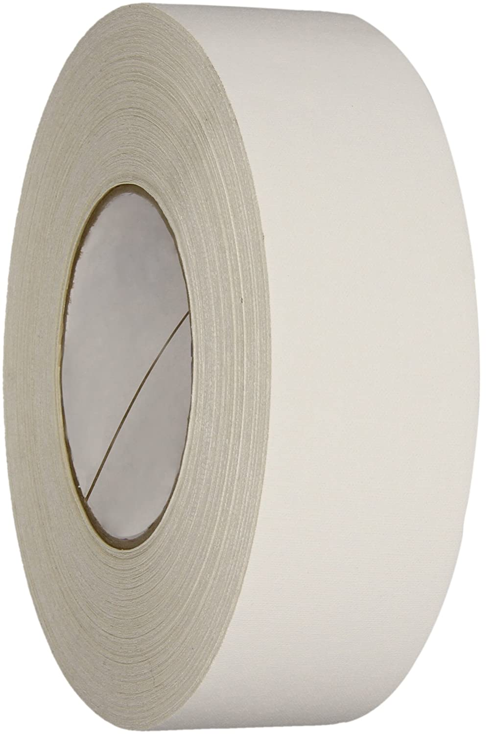 Polyken 510 Vinyl Coated Cloth Premium Gaffer's Tape, 11.5 mil Thick, 50m Length, 48mm Width, White