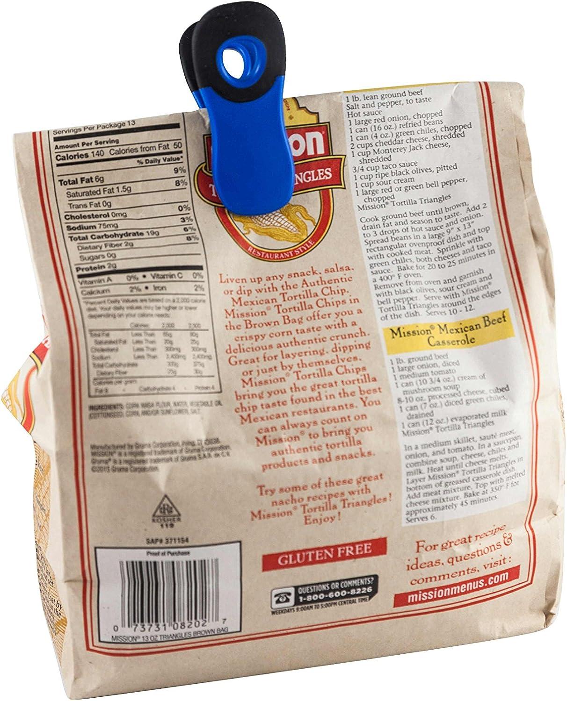 Items 4U! Soft Grip Bag Clips, Assorted Sizes, Assorted ...