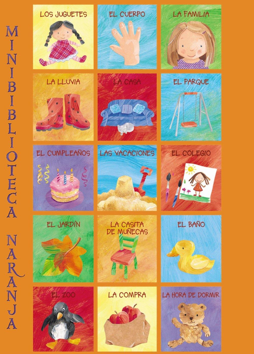 Download Minibiblioteca naranja / Orange Mini-library (Minibiblioteca / Mini Library) (Spanish Edition) pdf