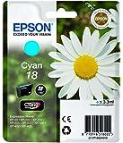 Epson Pâquerette 18 T1802 Cartouche d'encre Cyan