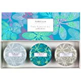 To Be Calm CSS-PEA Peaceful Collection - Mini Candle Trio,white
