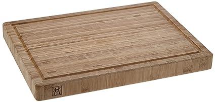 Zwilling 30772400 - Tabla de Cortar de bambú, 31 x 42 x 4 cm