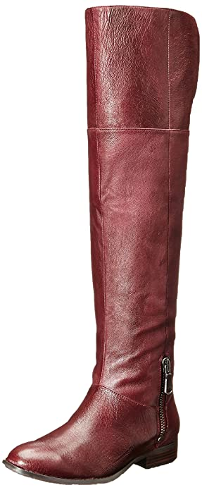 Chinese Laundry Women's Fawn Riding Boot, Bordeaux Leather, ...