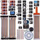 kuman 38 modules Sensor Kit for Raspberry Pi RPi 3 2 Model B B+ A A+ , 44 components kits K47