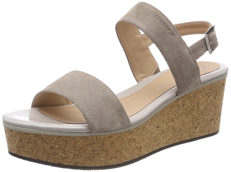 Stonefly Diva 1 Velour, Zapatos con Plataforma para Mujer