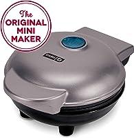Dash Mini Maker:迷你華夫餅制作機適用于獨立華夫餅、三明尼、散步棕色等外出早餐、午餐或零食