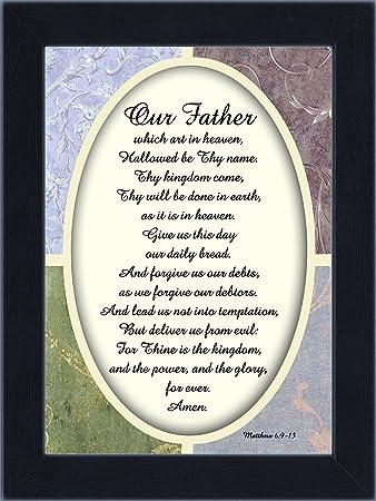 Amazon.com - Reflections Lord\'s Prayer, The Lords Prayer Wall Decor ...