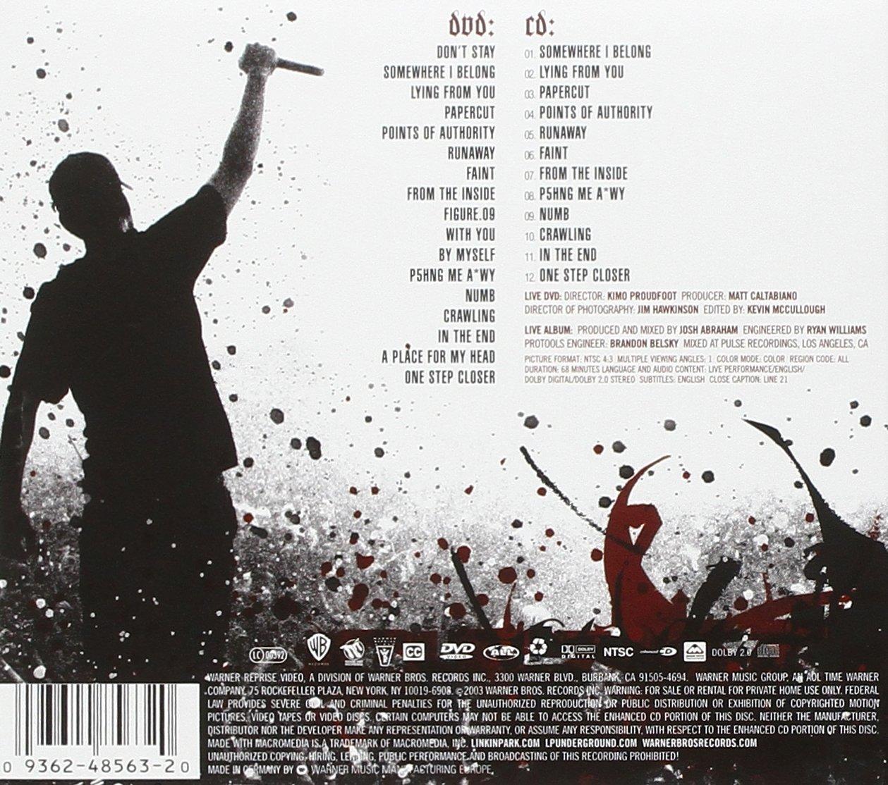 Linkin park live in texas mp3 скачать